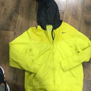 Men's Nike zip up size large